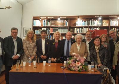 HOMENATGE A TERESA JUVÉ, ESCRIPTORA I VÍDUA DE JOSEP PALLACH
